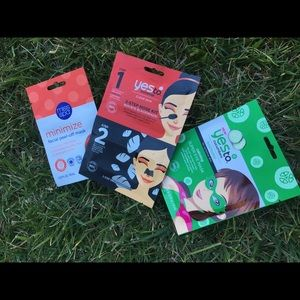 Other - NWT say yes to face mask bundle 3pc set